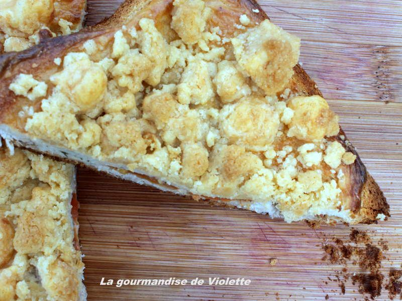 Croque Monsieur en crumble