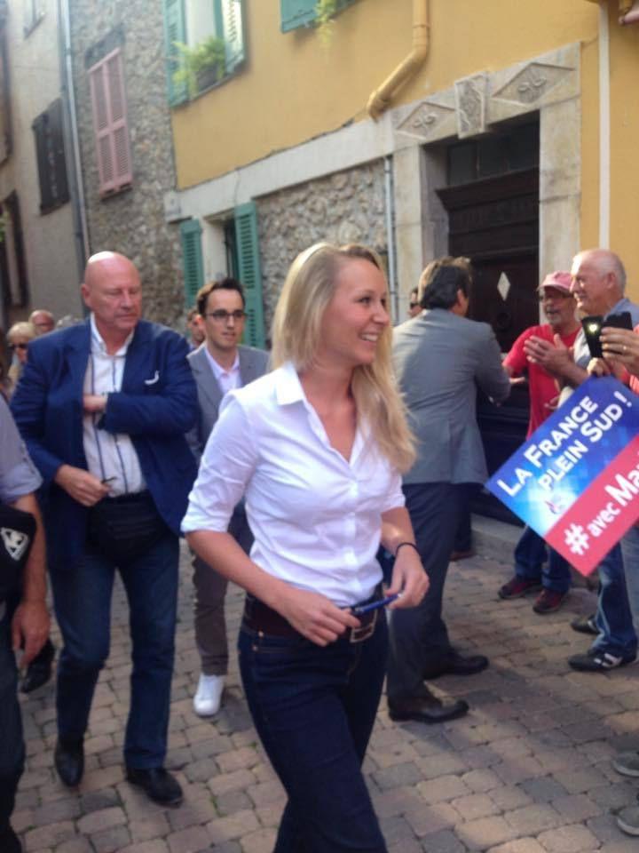 Jean Luc Francois Laurent : Rencontre avec Marion Maréchal-Le Pen député du Vaucluse
