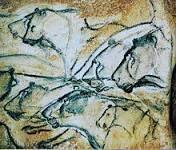 Peintures dans la grotte Chauvet