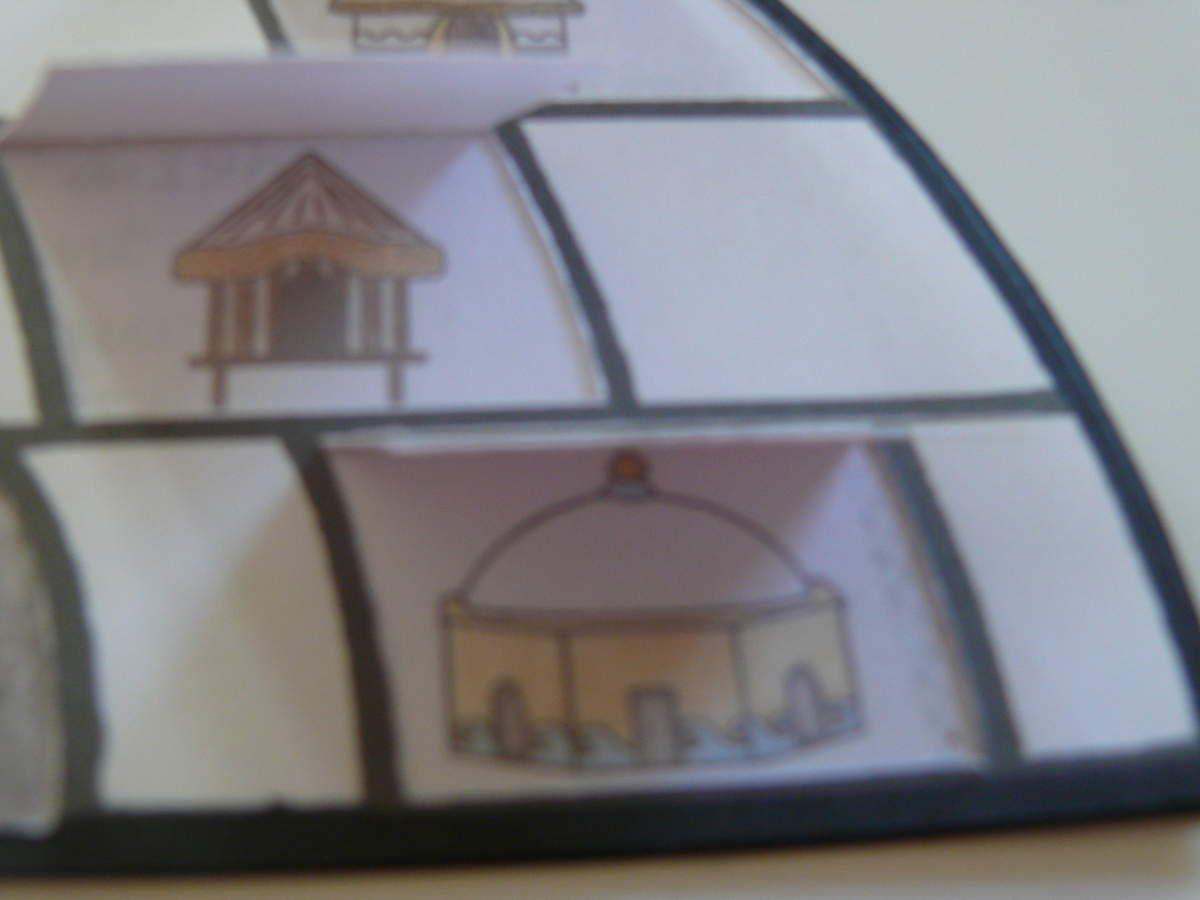"""voici une idée de carte d'invitation pour une pendaison de crémaillère sur le thème """"maisons du monde"""""""