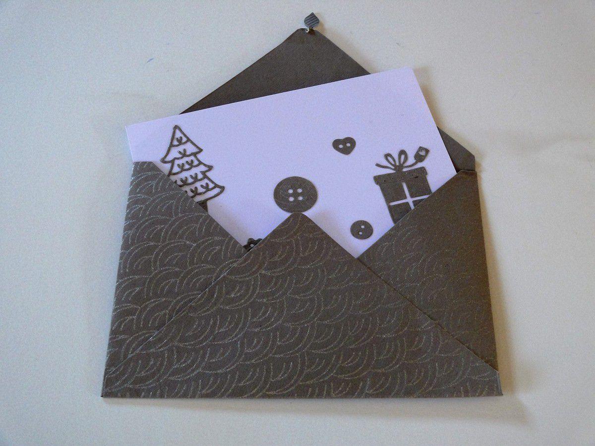 5€ (chaque enveloppes contient une carte pour joindre un petit mot à vos étrennes)