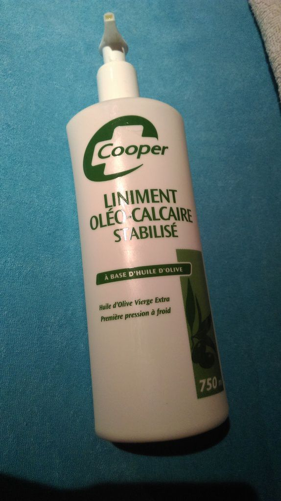 liniment cooper - ancien packaging