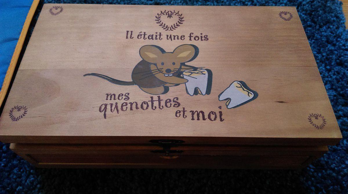 Boite à Souvenir Mes Quenottes et moi (boite de Ti Boy) - en cours de personnalisation &#x3B;-)