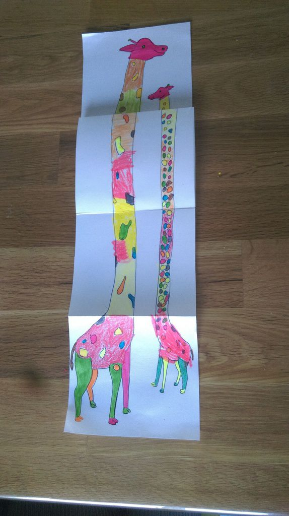 Moyennes girafes