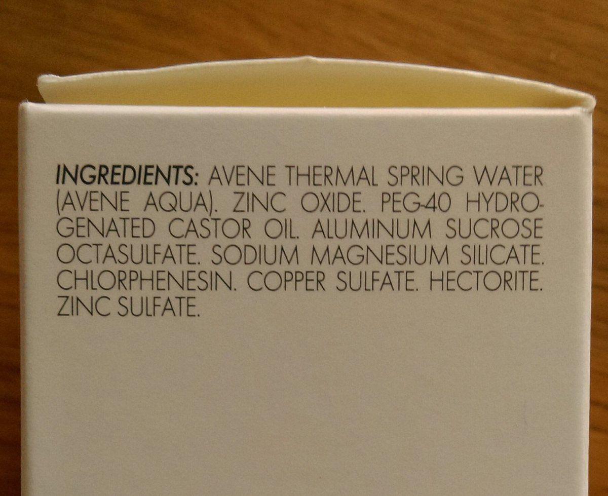 Ex de composition : la lotion asséchante réparatrice Cicalfate