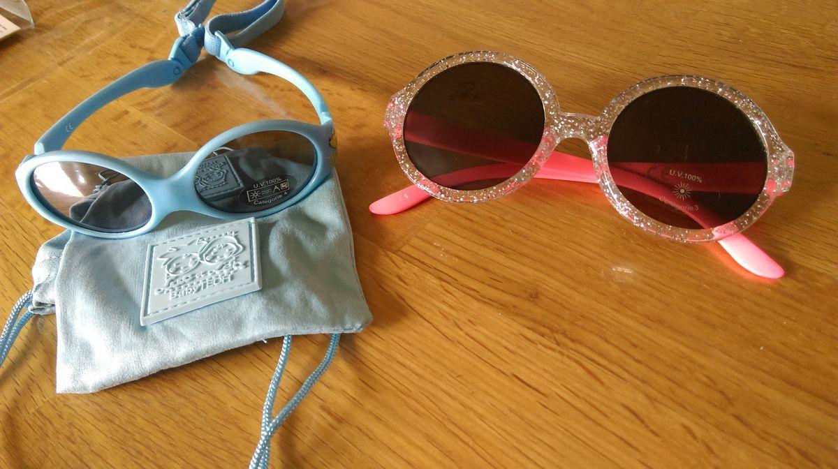 1446fa4a3e0956 Quelles lunettes de soleil pour Bébé  - Les Perles de Maman