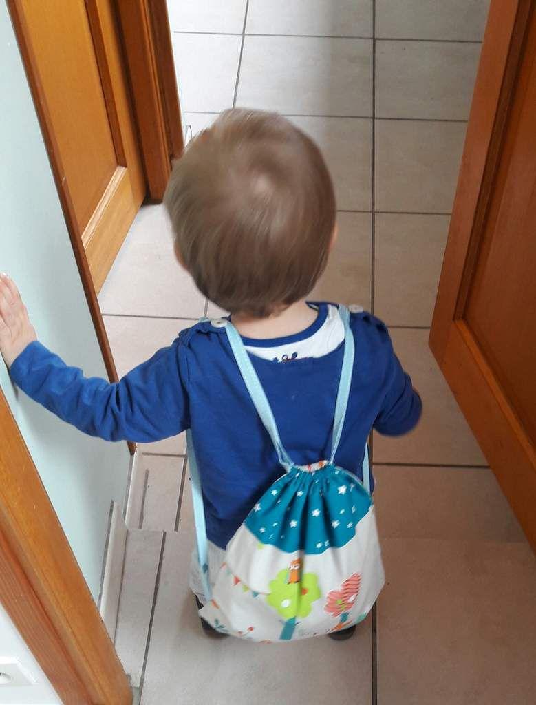 Ti boy et son sac à réconfort