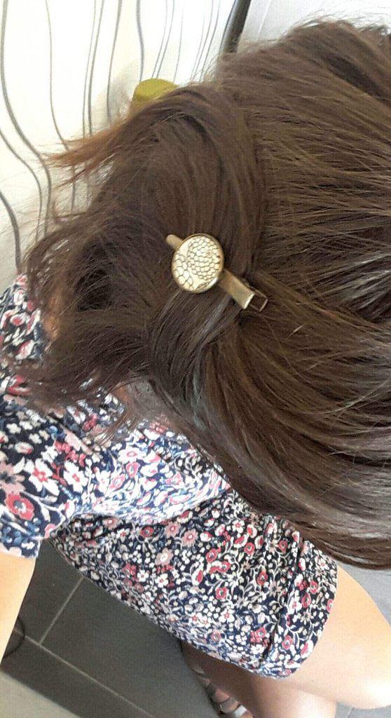 Pince à cheveux Mademoiselle Chloé