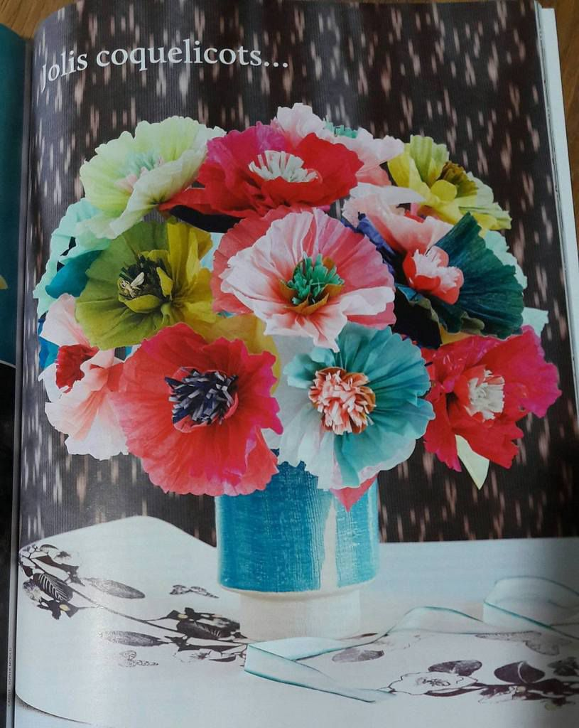 Rubrique Créativité : créer des coquelicots ou un joli noeud en papier - Passion coloriage