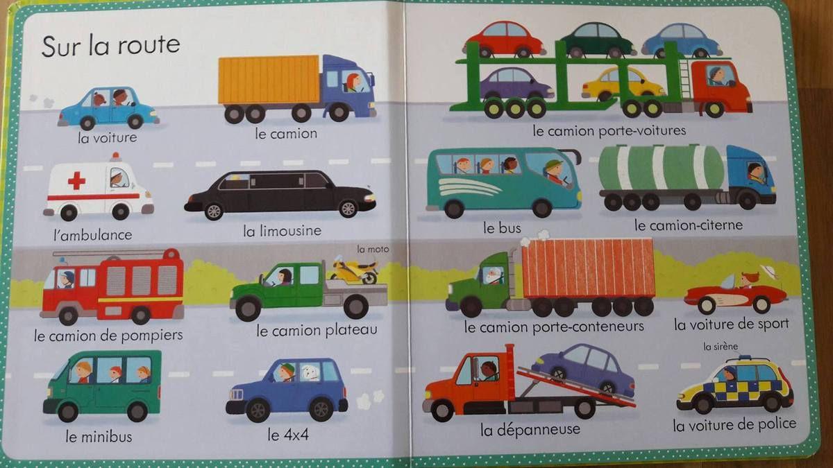 Mon grand Imagier Engins et véhicules par Usborne