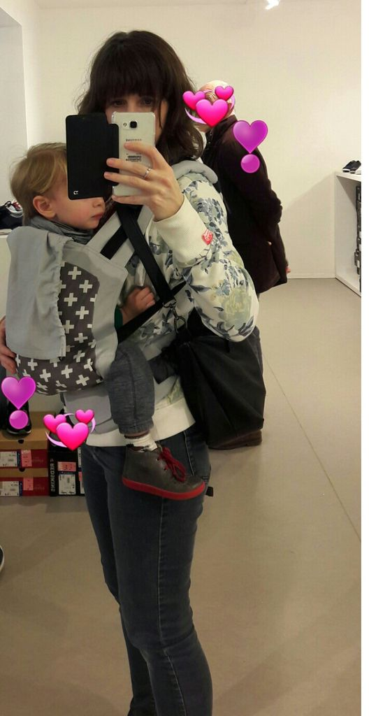 Tiboy en Toddler Madame Googoo pendant que Maman fait son shopping &#x3B;-)