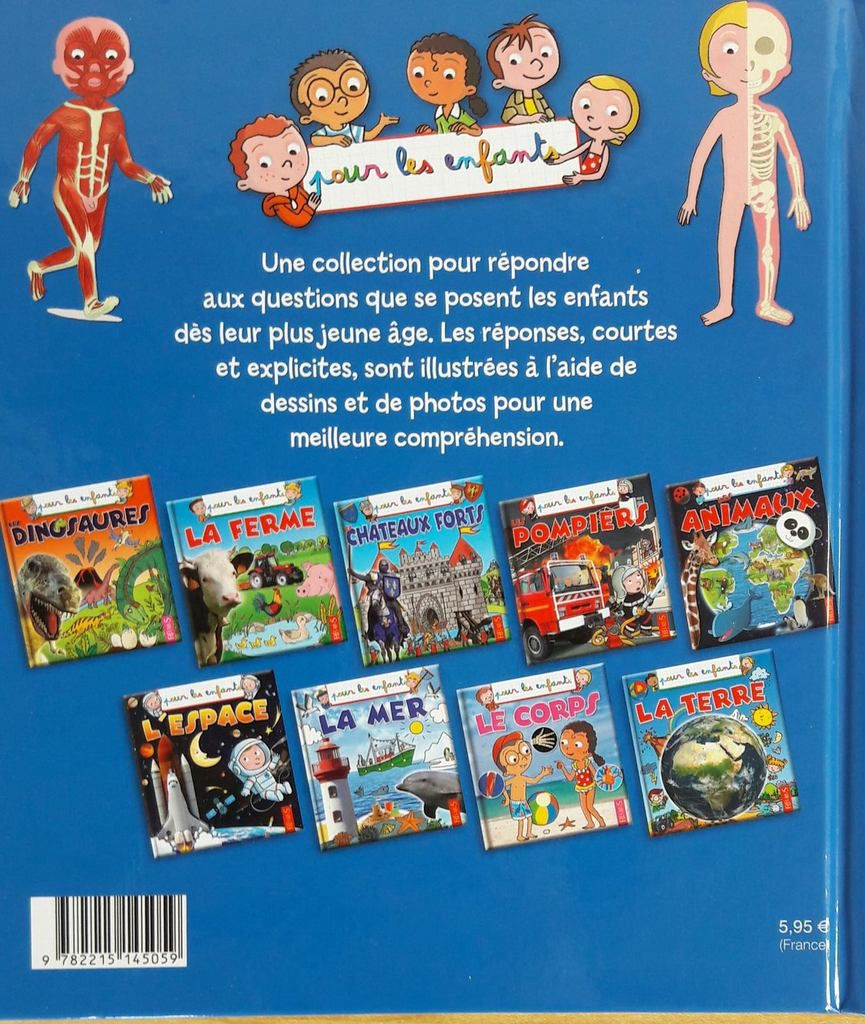 """Les différents titres de la collection """"Pour les Enfants"""" de Fleurus"""