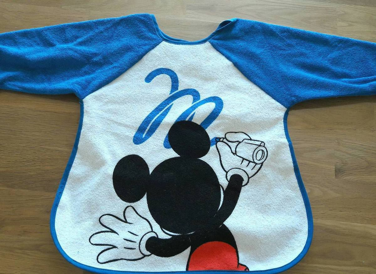 Bavoir tablier Mickey par Babycalin
