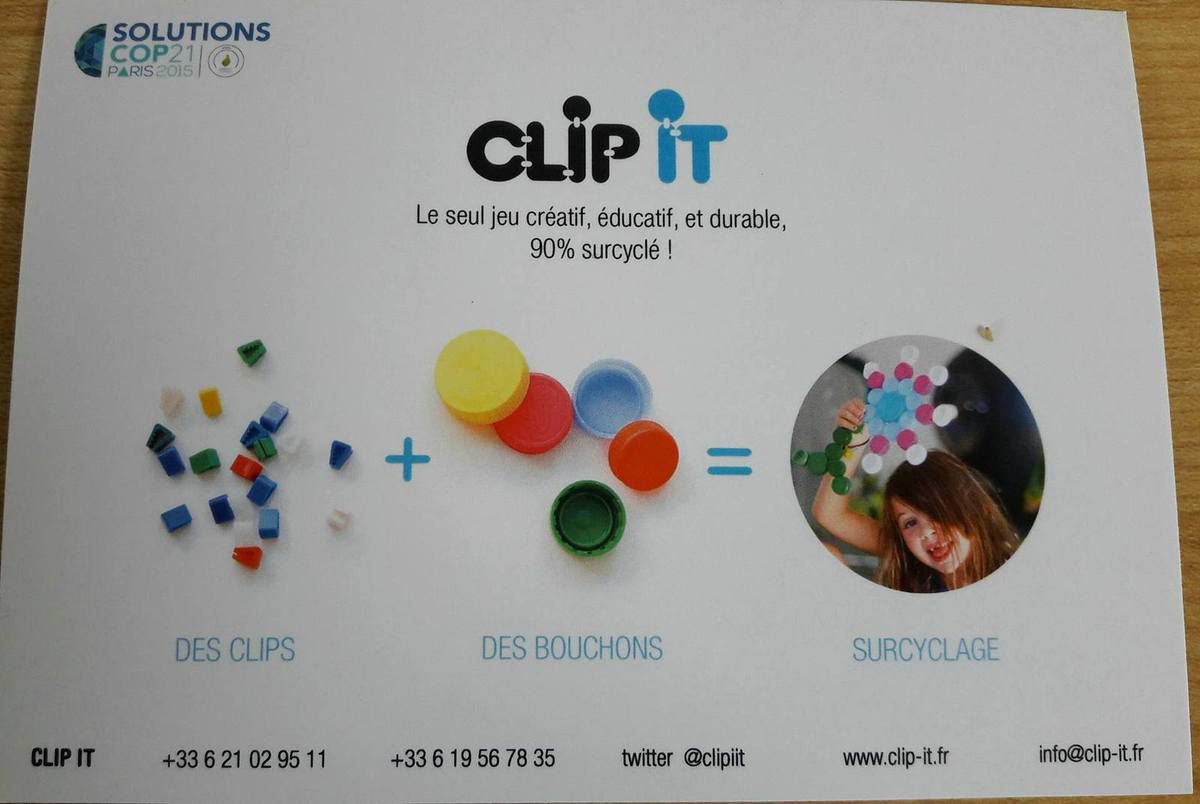 On construit, on joue avec Clip-It !