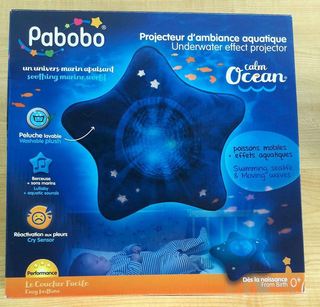 La veilleuse Calm Océan de Pabobo