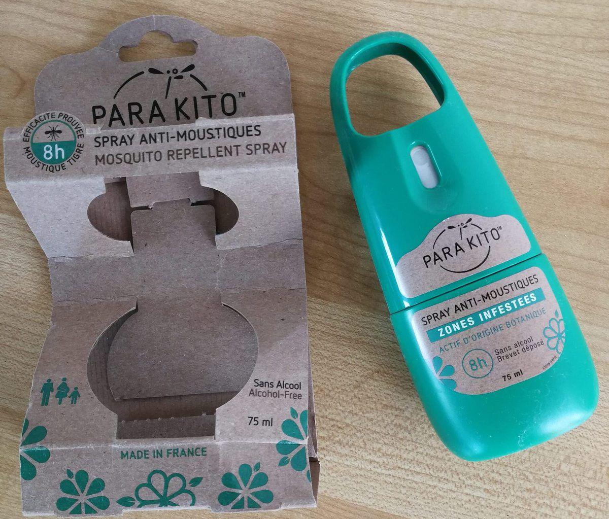 Spray anti moustiques Para'kito