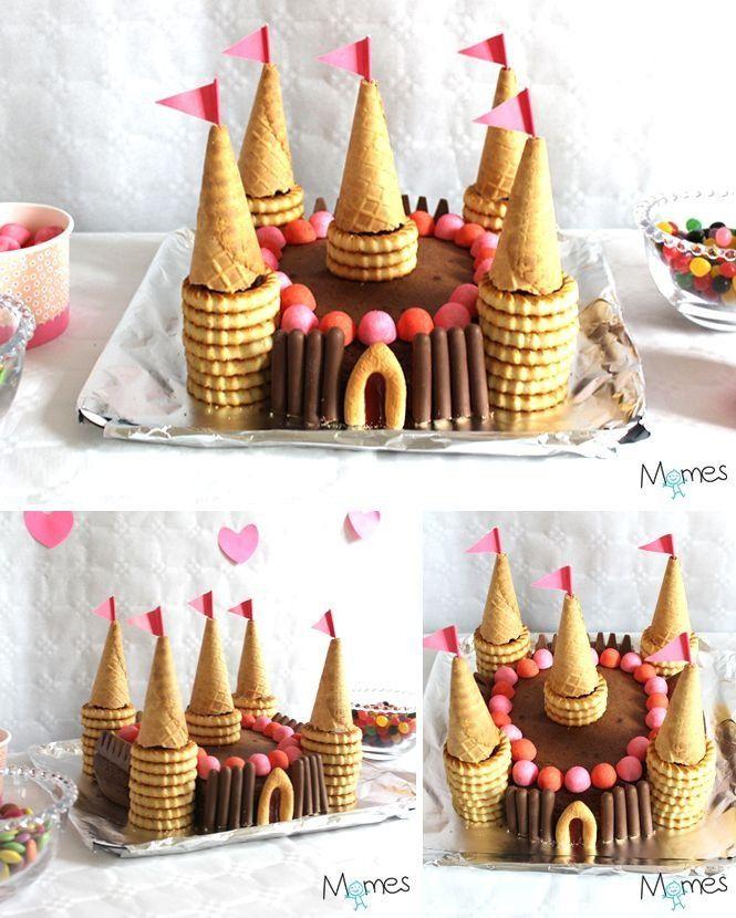 Gâteau enfant, château de princesse !
