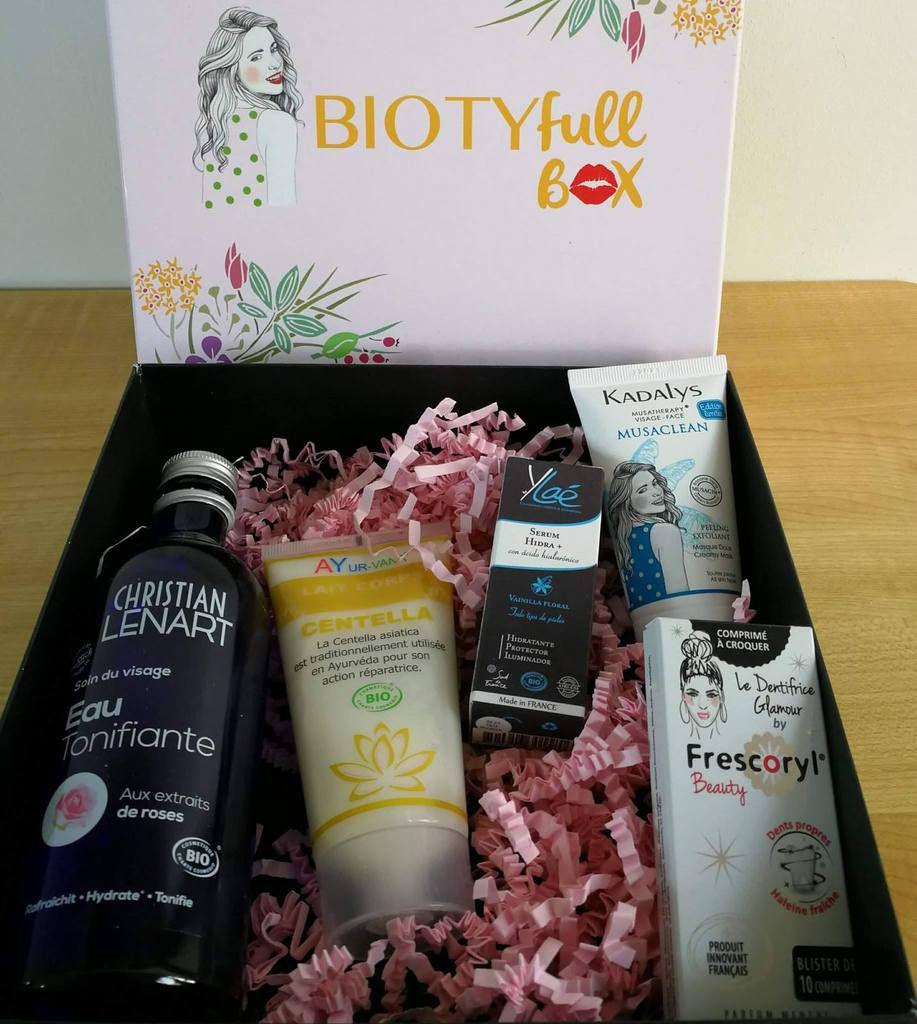 Contenu de ma Biotyfull Box de septembre 2017