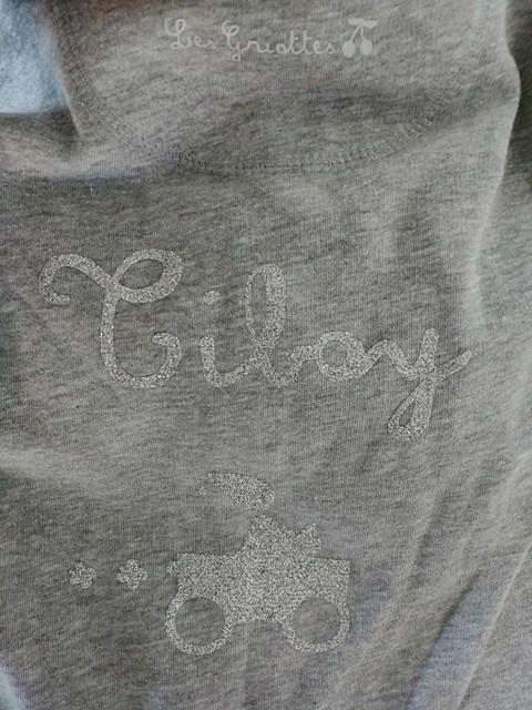 Combinaison sweat de Tiboy par Les griottes