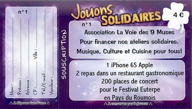 Grande Tombola Solidaire