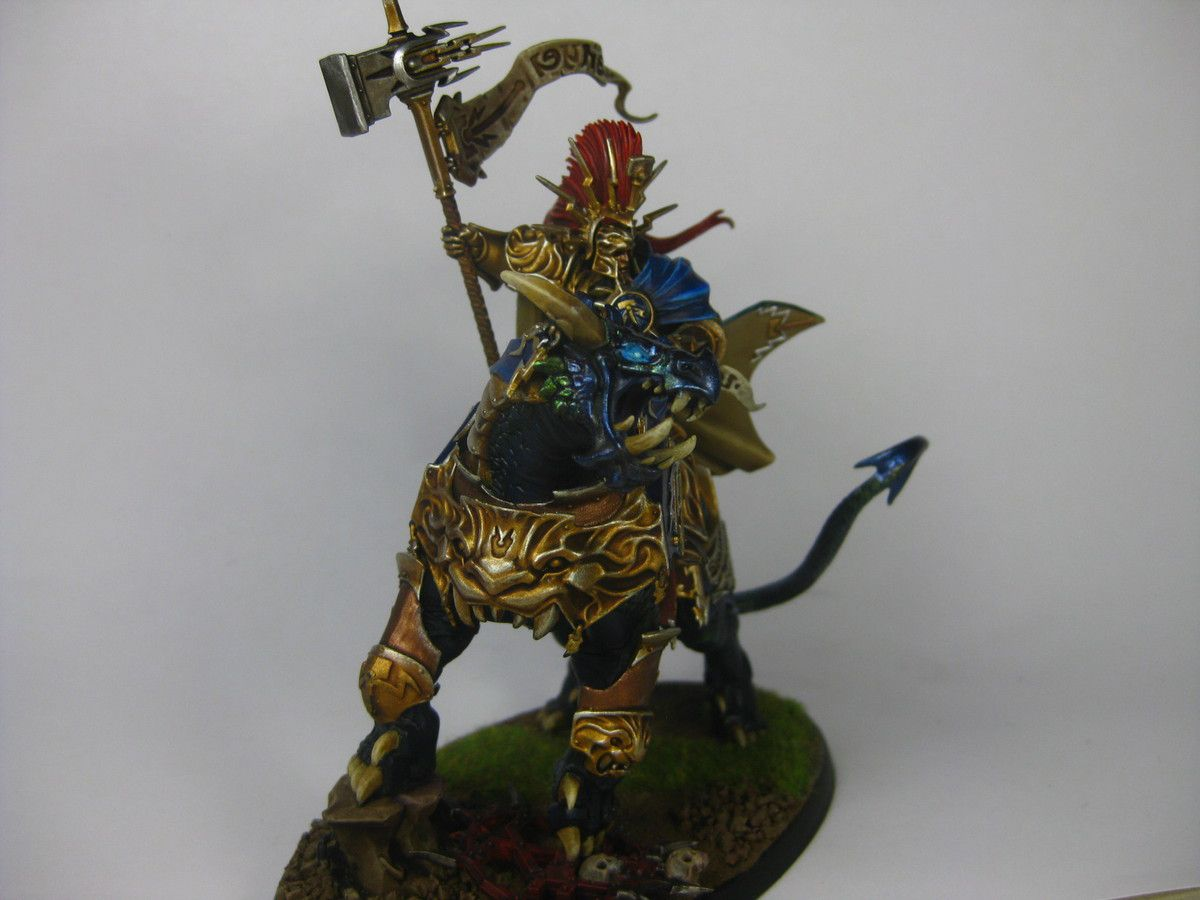 Lord-celestant sur Dracoth et Lord-relictor