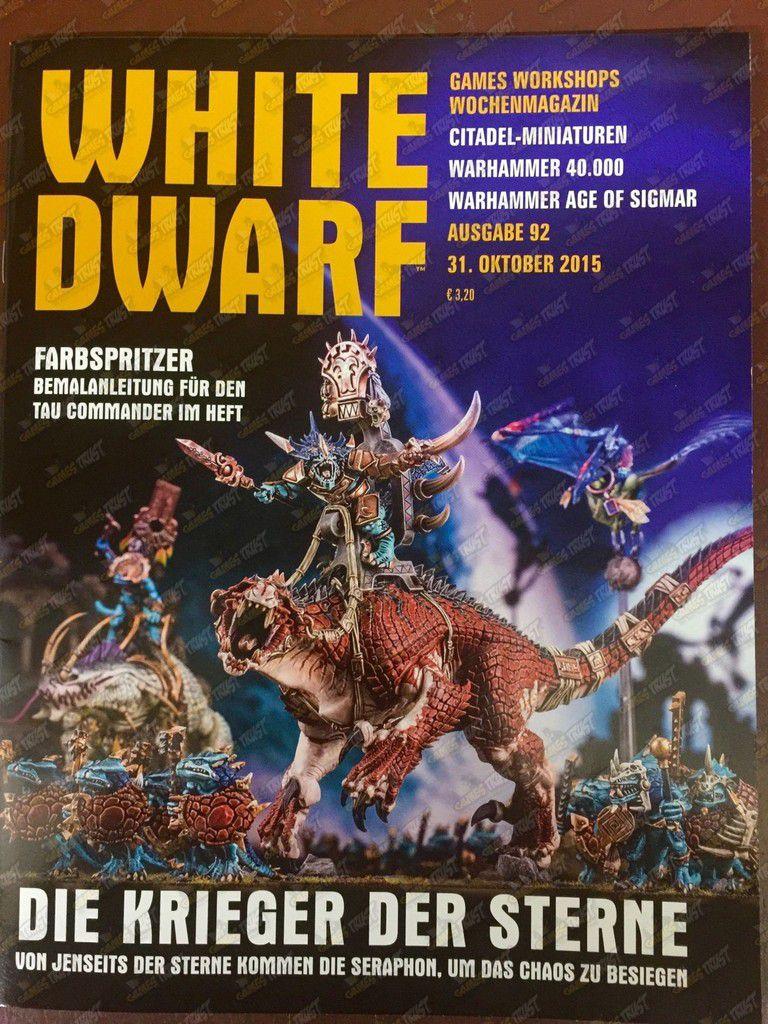 White Dwarf : Les Seraphons arrivent !