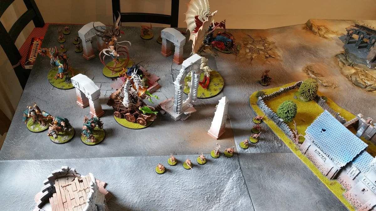 Rapport de bataille : Stormcasts VS Skavens (Chaos)