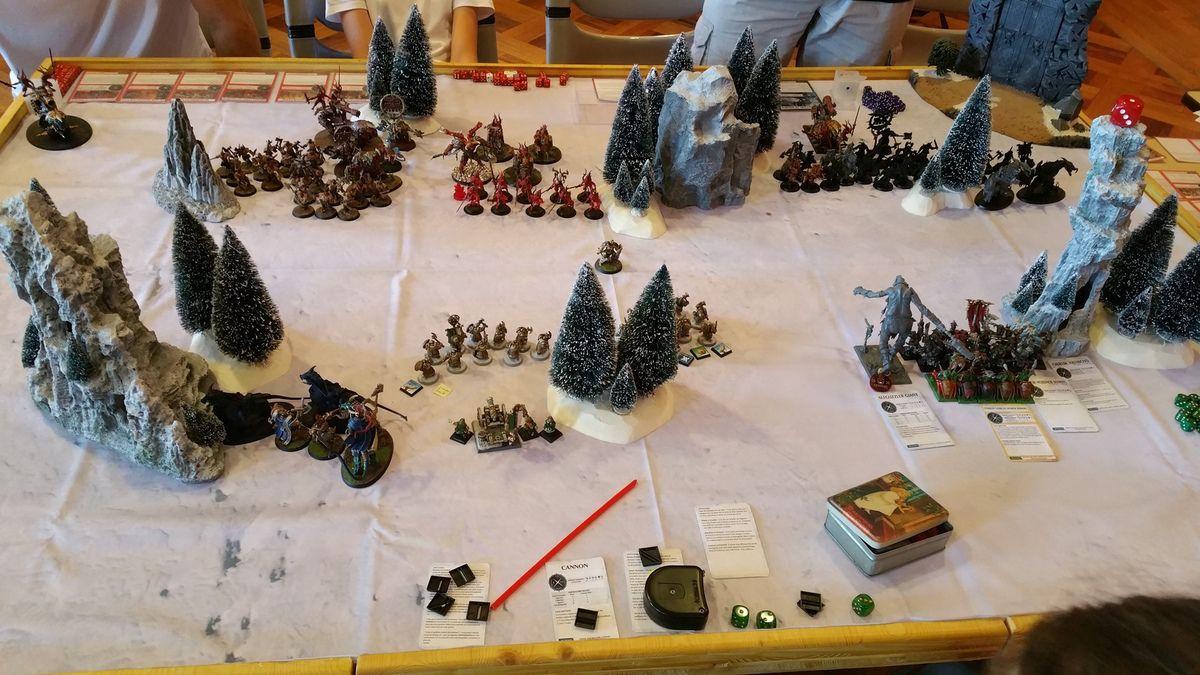 Rapport de bataille : 3 vs 3