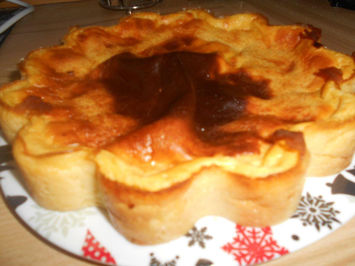 Flan Pâtissier sans pâte ( vanille )