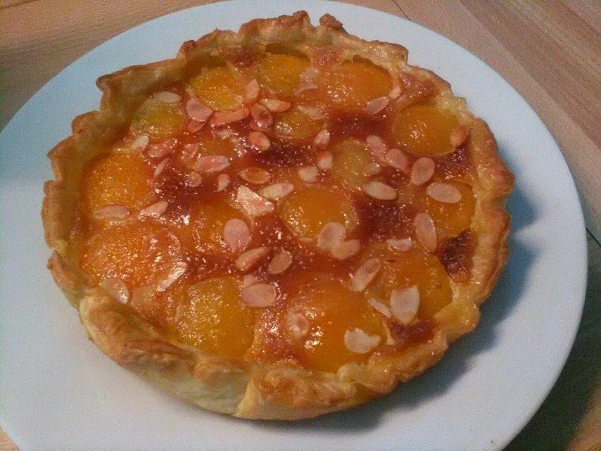 Tarte Vergeoise à l'abricot ( un peu comme celle de carrefour)