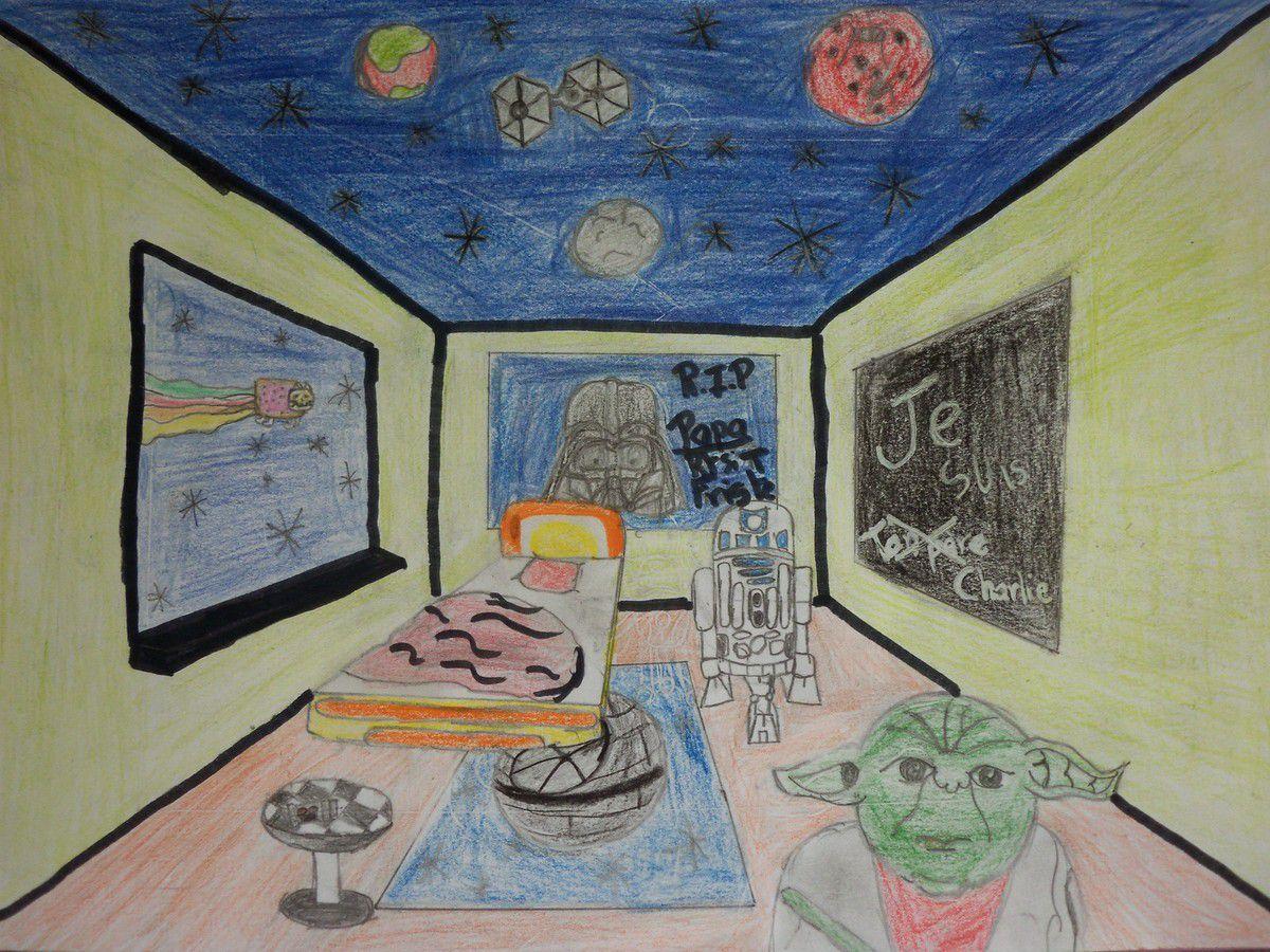 Cinqui me et perspectives madame h bert et les arts - Arts plastiques chambre en perspective ...