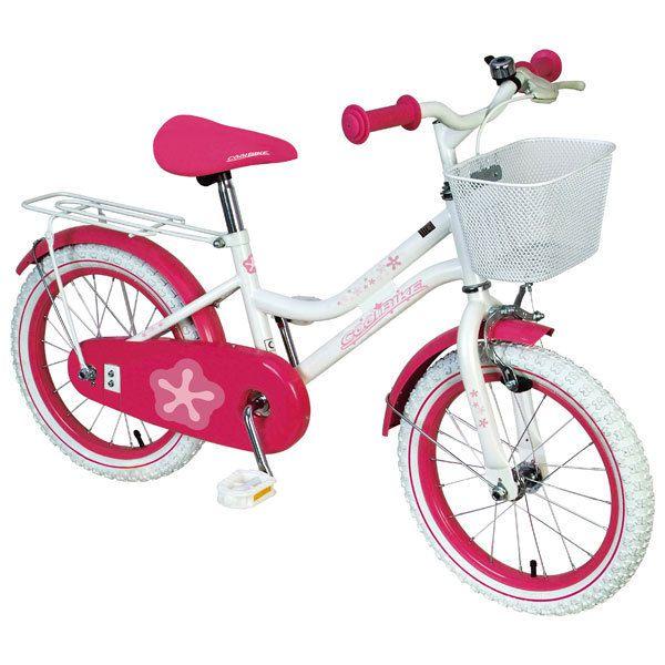 Pour notre fille, son vélo de grande