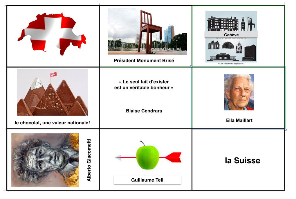 FRANCOPHONIE : Le jeu CARTES EN VRAC