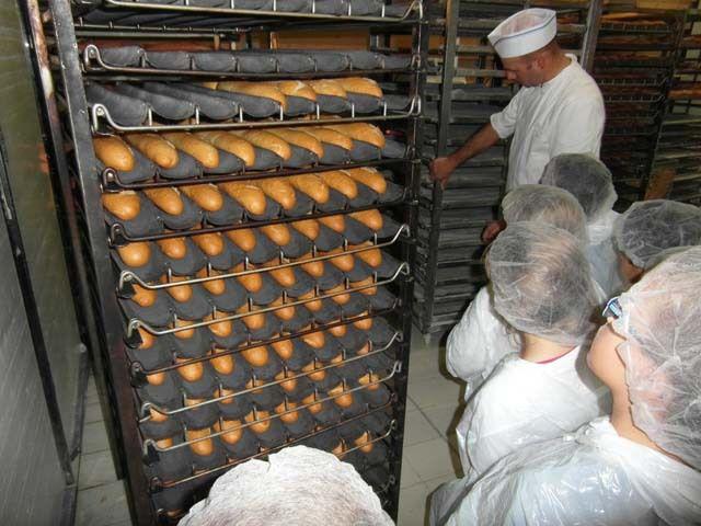 Visite de la Boulangerie CP