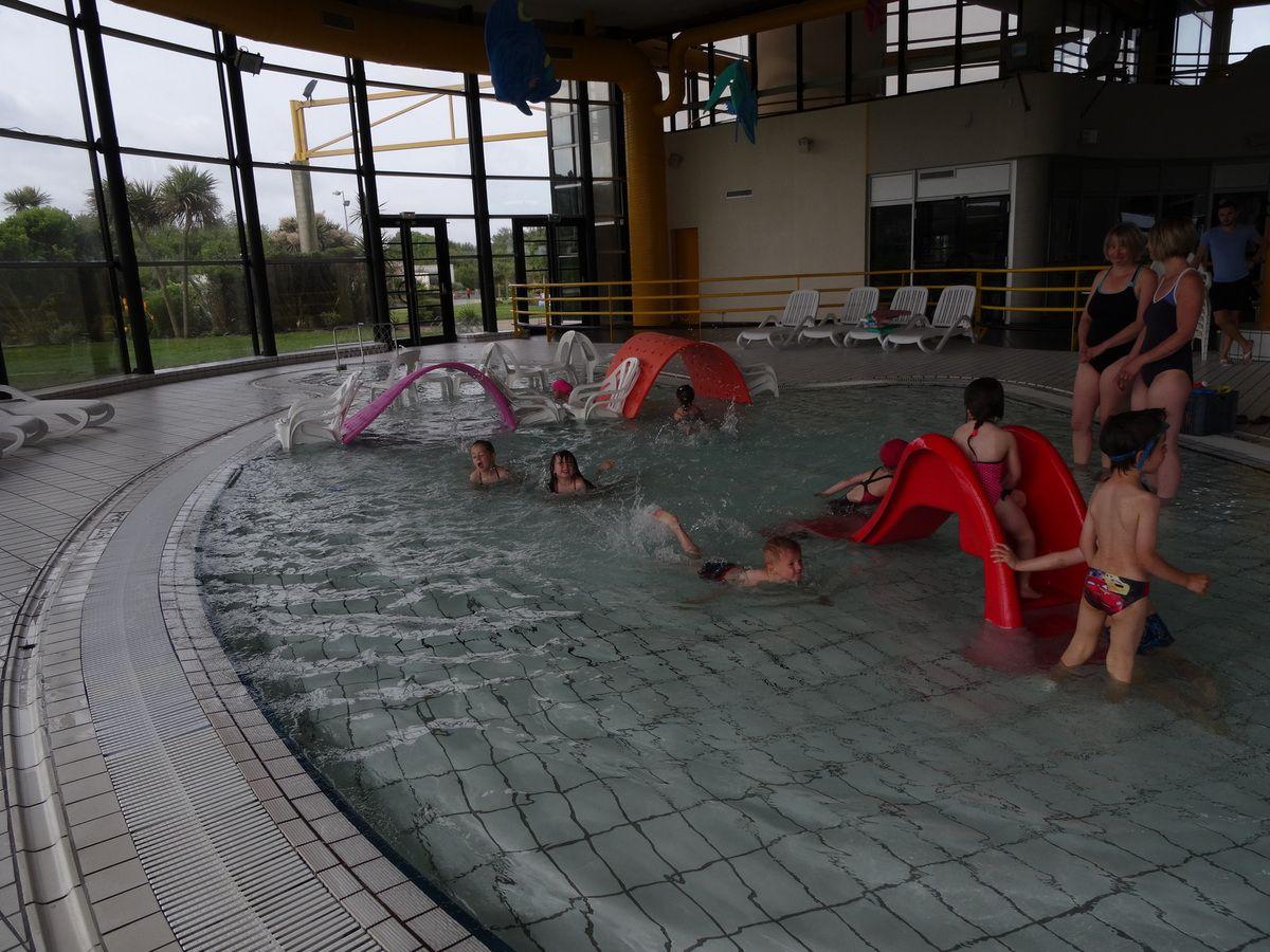 Séances de piscine en MS-GS