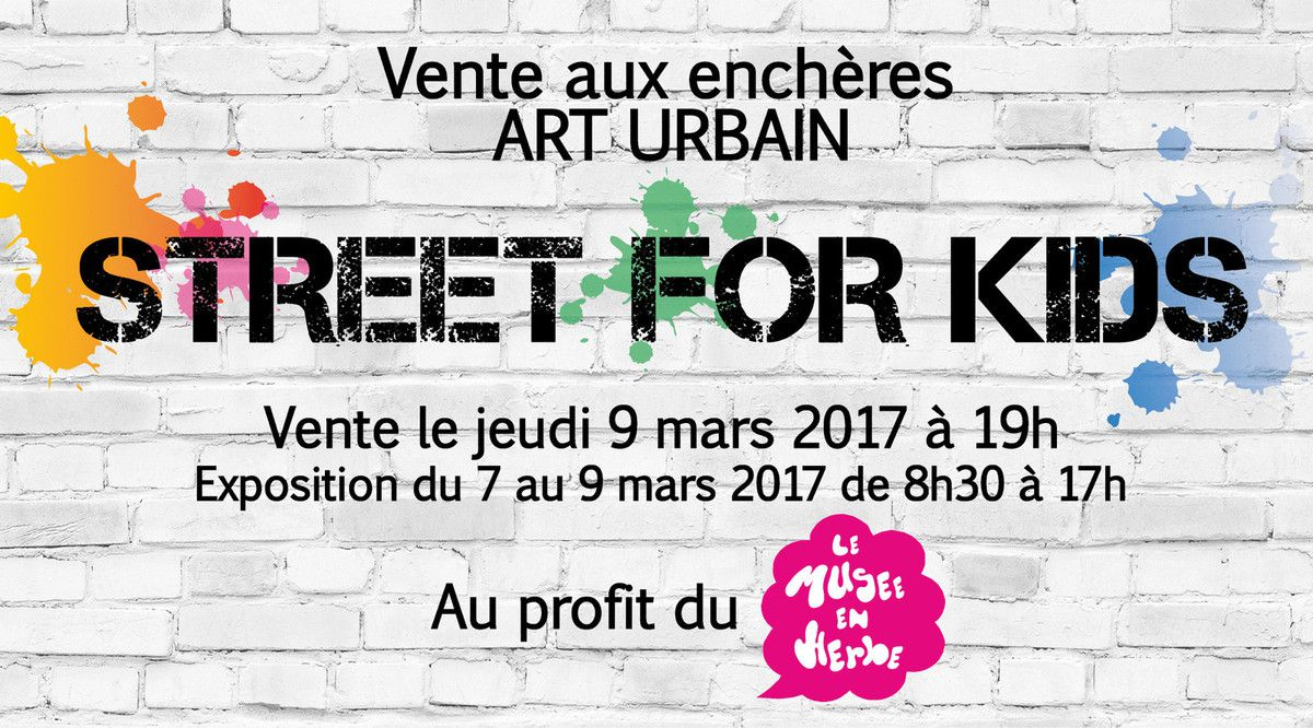 Organisé par Street For Kids
