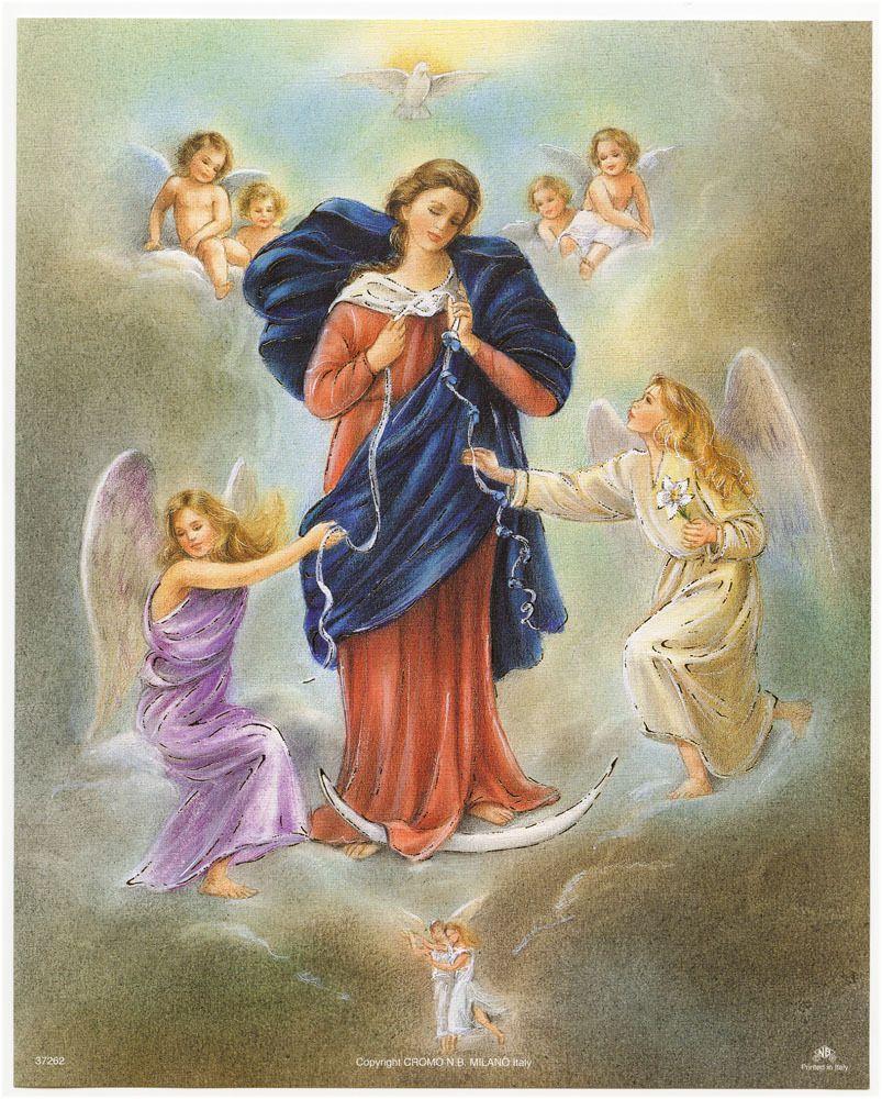 Top Marie qui défait les noeuds - Père Stéphane, prêtre à Reims FL76