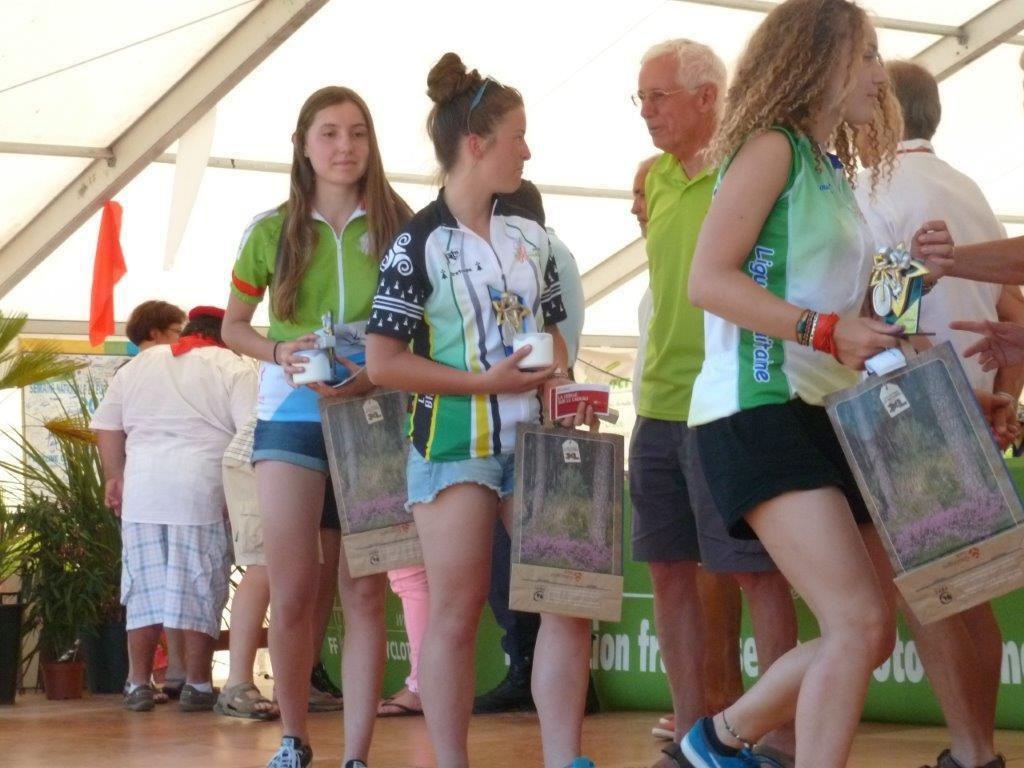 Critérium national VTT Filles (17-18 ans) : 1ere place pour Marion HELIN de Rieux (56)