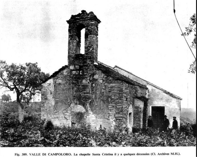 Photos ci-dessus: vues de la  chapelle en 1900 Photo 1 , après la restautation de 1986 Photo 2 et après celle de 2009 Photo 3