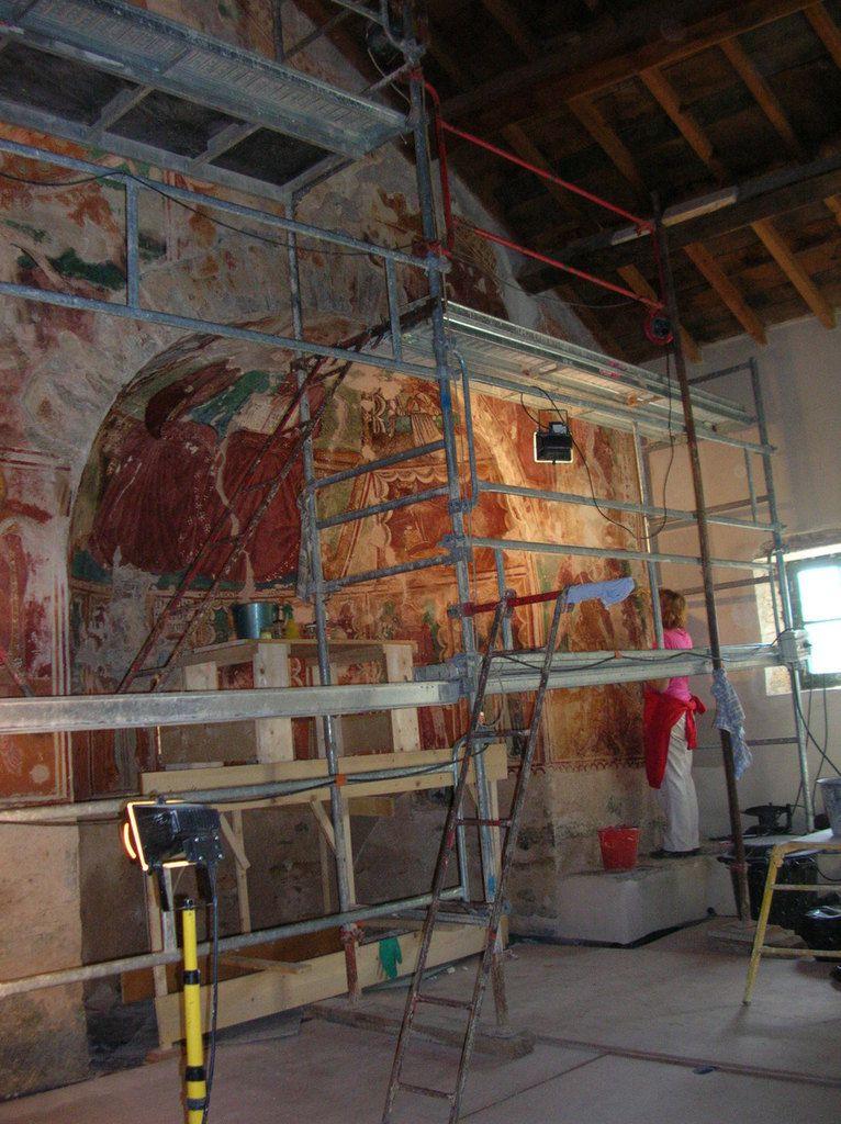 Journées du patrimoine, les cérémonies et les fresques