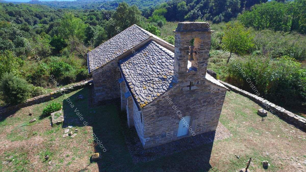 La chapelle: vues aériennes