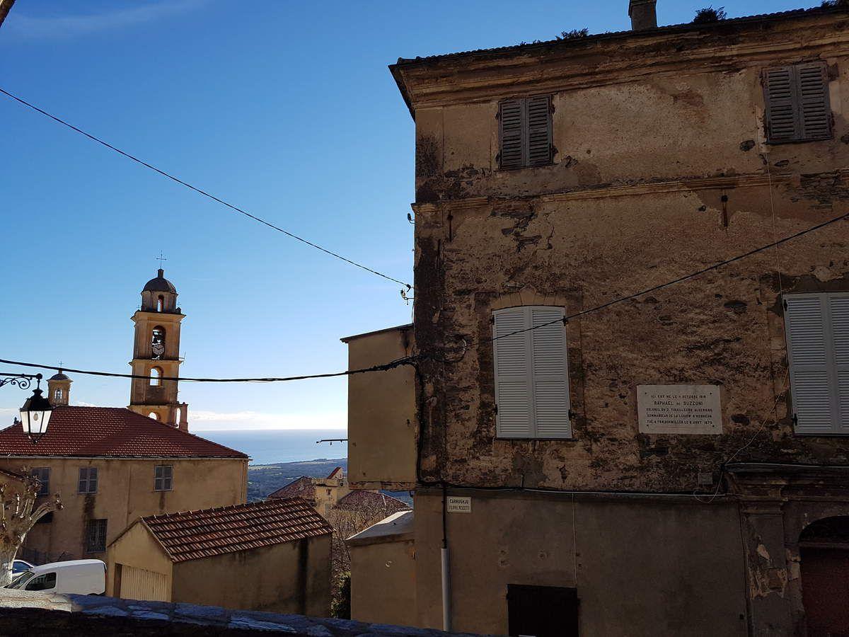 La maison où habitait la famille Suzzoni