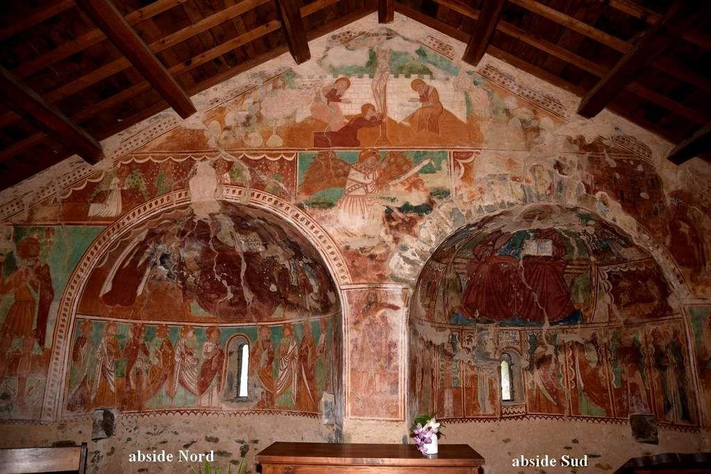 Les fresques de la chapelle