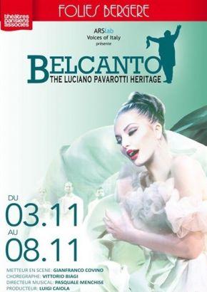 &quot&#x3B;Belcanto, The Luciano Pavarotti Heritage&quot&#x3B; Aux Folies Bergères
