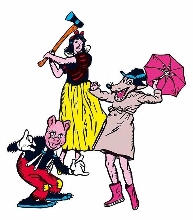 &quot&#x3B;Barbe-Neige et les Sept Petits cochons au bois dormant&quot&#x3B; au Théâtre du Ront-Point