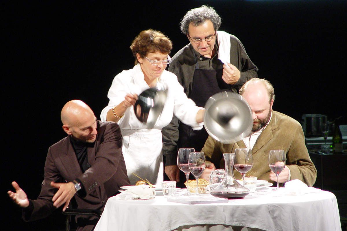 &quot&#x3B;My Dinner With André&quot&#x3B; au Théâtre de Sartrouville