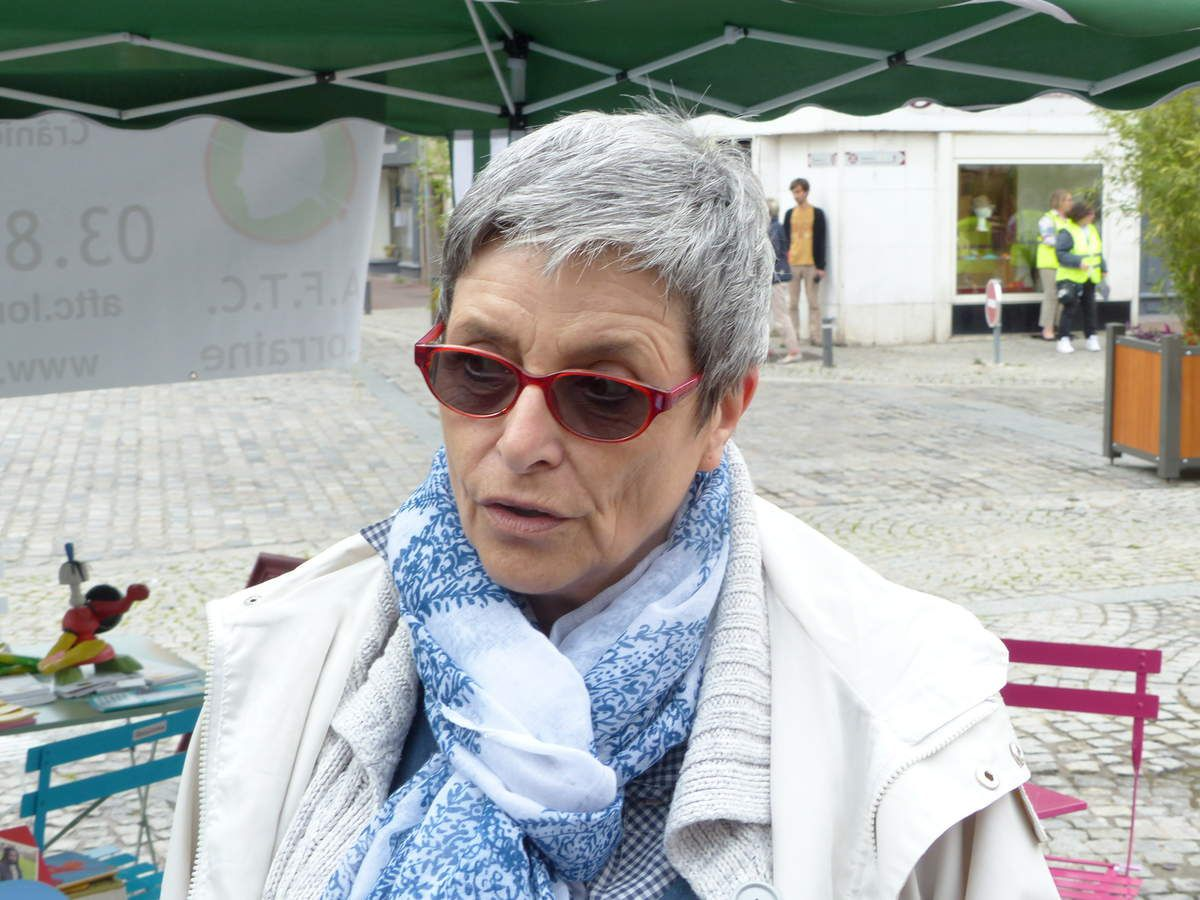 Josette Bury, Présidente de l'association AFTC