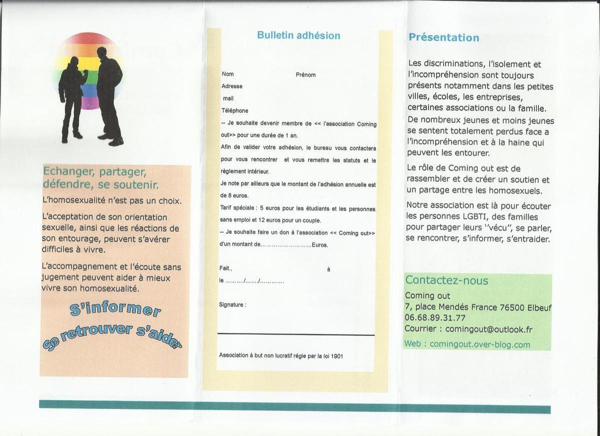 Association LGBT & Friendly  a  Elbeuf sur seine.