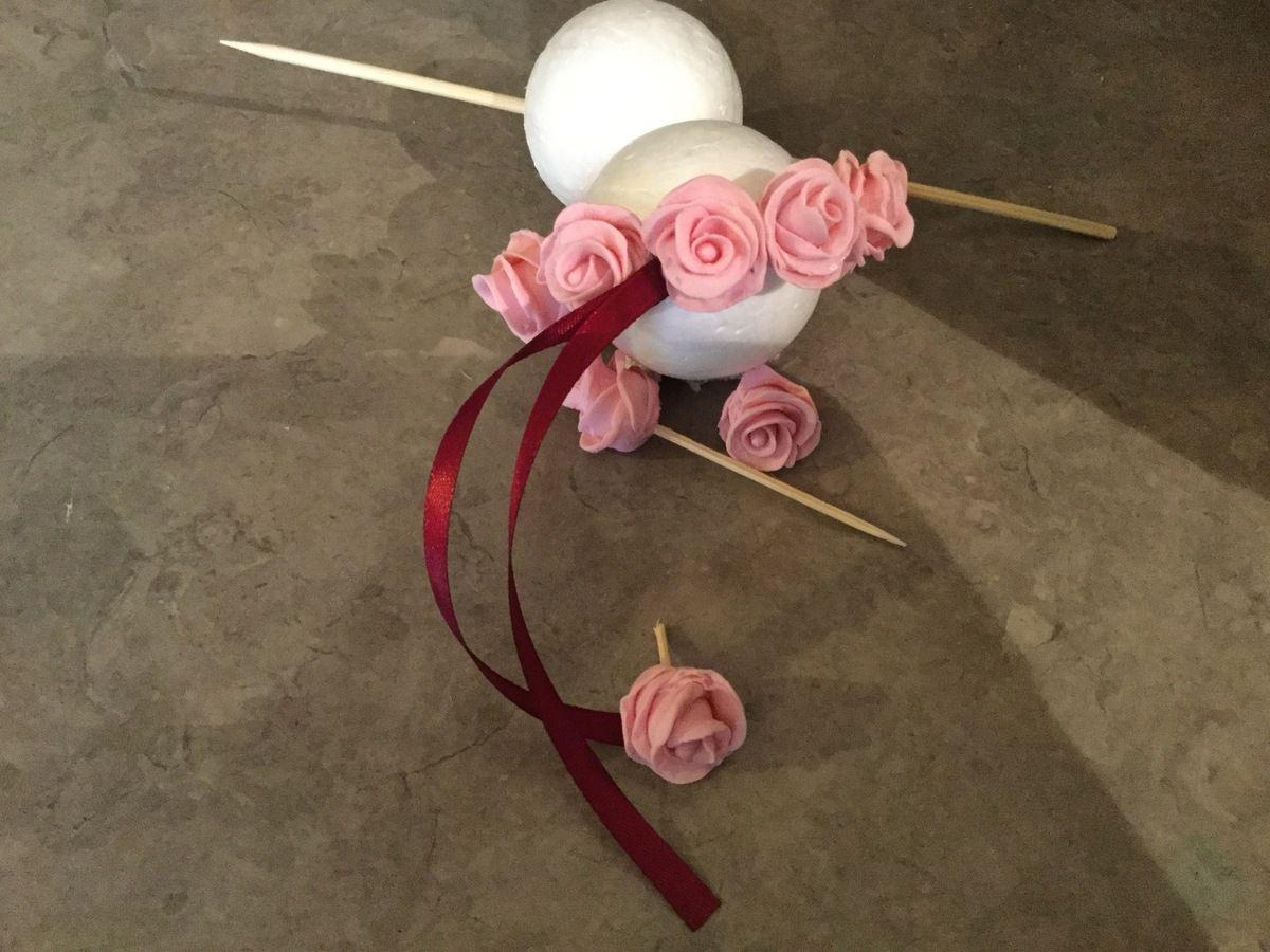 on pr pare no l les boules de roses en p te sucre parole de cuill re. Black Bedroom Furniture Sets. Home Design Ideas