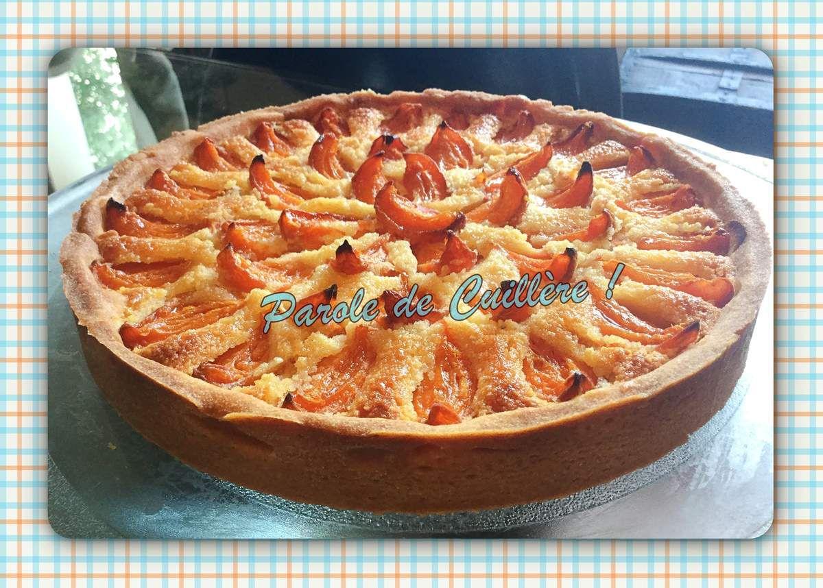 Tarte aux abricots et crème d'amandes